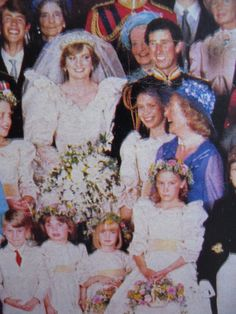 I love that they caught this moment between Princess Diana and her mother. :)