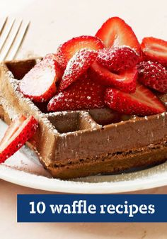 10 Waffle Recipes — Whether you want from-scratch or frozen waffle recipes, you're in the right place!