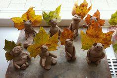 Zelf klei maken: thema herfst - Lespakket - thema's, lesideeën en informatie - onderwijs aan kleuters