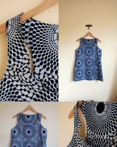 Project No. 5: African Wax Print Tank Dress