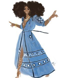 Black Women Art! — nikisgroove: New Gipsy