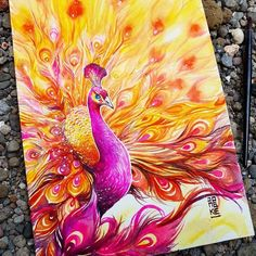 58 Ideas animal art painting nature for 2019 Watercolor Artists, Watercolor Animals, Watercolor Paintings, Watercolor Illustration, Peacock Painting, Peacock Art, Male Peacock, Watercolor Peacock, Nature Paintings