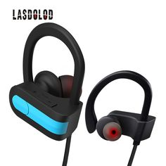 Lasdolod wireless bluetooth headphones IPX4 waterproof wireless earphones sport  bluetooth headset with microphone for phone Waterproof 57db08826b