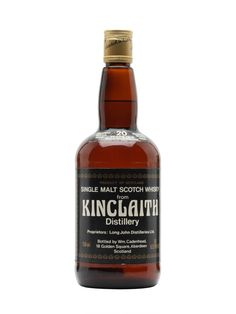 Kinclaith 1965 / 20 Year Old / Sherry Cask / US Botling Scotch Whisky : The Whisky Exchange