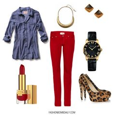 Love this outfit. I have everything except the top! I will have to purchase one to complete the look.