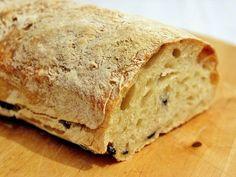 ¡Hola Olivia!: Pan de aceitunas