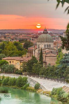 Verona.sunset.2 by Vicktor #SocialFoto
