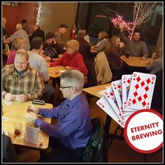 Eternity Brewing Company, LLC: Euchre: I don't always get dealt four nines, but when I do, I'm playing Euchre.