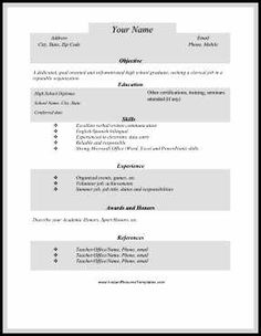 There Are Two Types Of Biotech Resume One Is The Academic Resume