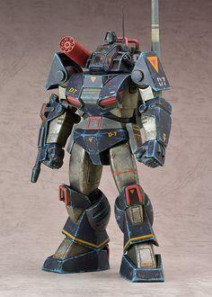 COMBAT ARMORS MAX EX-03 1/72 Scale ヤクト ダグラム メカニックデザイナー 大河原邦男展Ver.