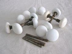 Antique Porcelain Door Knobs decorative door knobs. new york style door set with white