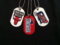 NFL MLB NBA Personalized Custom ID Dog Tags | eBay #chicagobulls #patroits #detroittigers