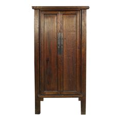 19th Century Chinese Narrow Cabinet | From a unique collection of antique and modern cabinets at http://www.1stdibs.com/furniture/storage-case-pieces/cabinets/