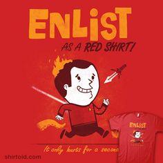 shirtoid:    Enlist! by Anna-Maria Jung
