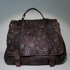 Amazing big leather bag