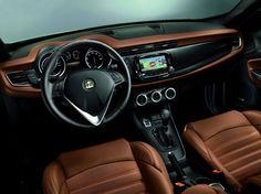 Alfa Romeo Giulietta restyling, plancia