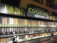 This decor was designed for the Cooking Department at Whole Foods Market Lakeview (Chicago).
