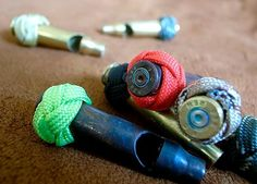 Whistle shell casings