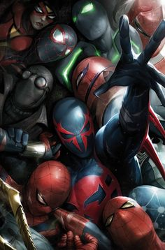 Spider-Man by Francesco Mattina #Spiderverse #Spiderwoman