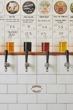 Garage Project, craft brewery in Wellington, NZ @mwoestehoff I fell like this is right up your alley!