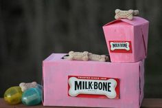 Even children can #SayitwithMilkBone 3 Fun DIY Dog Treat Boxes