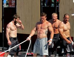 CrossFit Games 2011: Pat Barber, Matt Chan, Graham Holmberg & Jason Khalipa