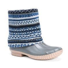 fc943dd671 Don't let the rainy weather affect your style. Our dainty MUK LUKS Women's  Sydney Rainboots keep you dry and stylish.
