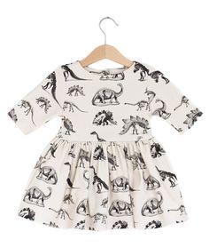 Dinosaur Dress Girls