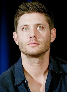 Jensen's eyes. Kill me now. Dallascon14 || <-- I think he's going to do the killing.  Good lord.