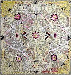 Robert Zachanitch, sucker lace, 2000.