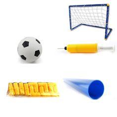 Niños de gran tamaño portátiles plegable fútbol meta puerta conjunto fútbol puerta exterior de interior de deportes de juguete