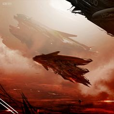 Concept ships by Gary Sanchez