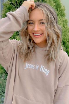 Christian Hoodies, Christian Clothing, Silhouette Vinyl, Teen Girl Outfits, Soft Fabrics, King, Fashion Outfits, Unisex, My Style
