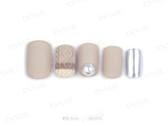 nail idea. Korean Nail Art, Korean Nails, Es Nails, Winter Nails, Trendy Nails, Finger, Manicure, Nail Designs, Pusheen Cat