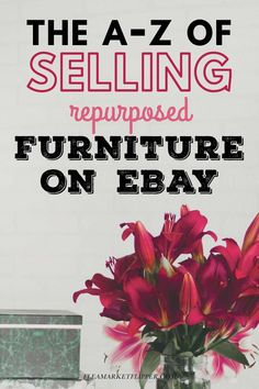Does the idea of using eBay intimidate you? | How To Sell On eBay | Does shipping your furniture seem completely undoable? If you're afraid to lose money on shipping, or just don't know how to do it, join the Furniture Flip and Ship Course to learn all about shipping on eBay so you can double your profits and grow your flipping and reselling business or side hustle. | How To Ship Items On eBay | Flipping Side Hustle | Reselling Business Tips #shipping #flipping #thrifting #eBay #reselling Make Money Fast, Make Money Blogging, Make Money Online, Extra Cash, Extra Money, Sell Your Stuff, Things To Sell, Ebay Selling Tips, Frugal Living Tips
