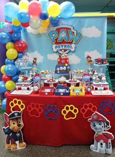 67 New ideas for birthday cake boys baby paw patrol
