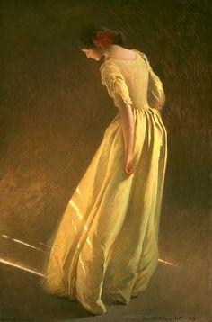 John Alexander Paintings | John White Alexander - Sunlight - Pictify - your social art network