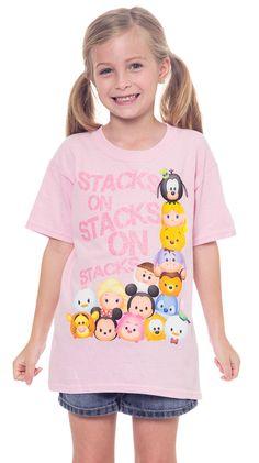 Disney Tsum Tsum Stacks Girls T-Shirt