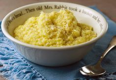 Pastina with Egg and Pecorino Cheese ~ my Nonna brought this simple peasant meal with her when she came to America.