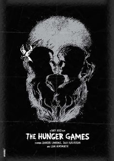 The Hunger Games (2012) ~ Alternative Movie Poster by Daniel Norris #amusementphile