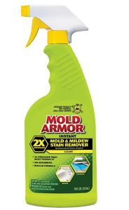 Mold Armor Instant Mold and Mildew Stain Remover Mildew Stains, Mold And Mildew, Spray Bottle, Cleaning Supplies, Masquerade Masks, Top, Design, Cleaning Agent