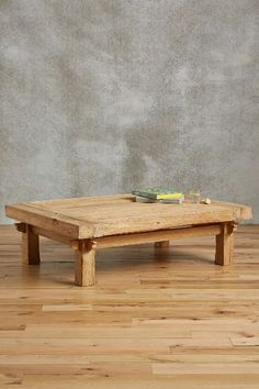 Wide Plank Coffee Table - anthropologie.com :: $1300