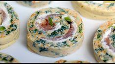 Arrollado de huevo y vegetales - Tortilla arrollada