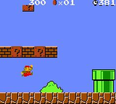 Old fashioned super mario bros