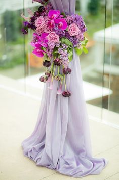 24 Lavender Wedding Decor Ideas You'll Totally Love ❤ lavender wedding decor ideas arch detalies theyoungrens ❤ See more: http://www.weddingforward.com/lavender-wedding-decor-ideas/ #weddingforward #wedding #bride