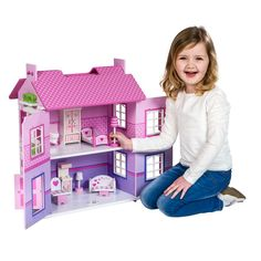 Olivia's Wooden Doll House image-0
