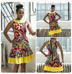 Catherine Addai's new Spring Summer 2014 Kaela Kay collection.
