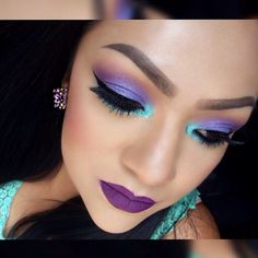 Mermaid makeup inspiration! mar_divadivine used the Wild and Free Palette and the First Edition -120 Color Eyeshadow Palette for this gorgeous pastel look.