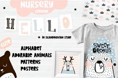 Illustrations and Illustration Products: solmariart - Dreamy nursery creator