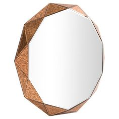 Howard Elliott - Aurelia Copper (Brown) Mirror - Copper